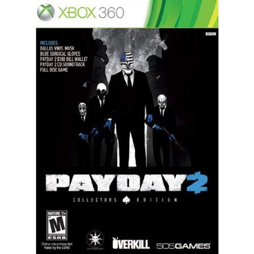 Payday 2 Collector's Edition - Xbox 360