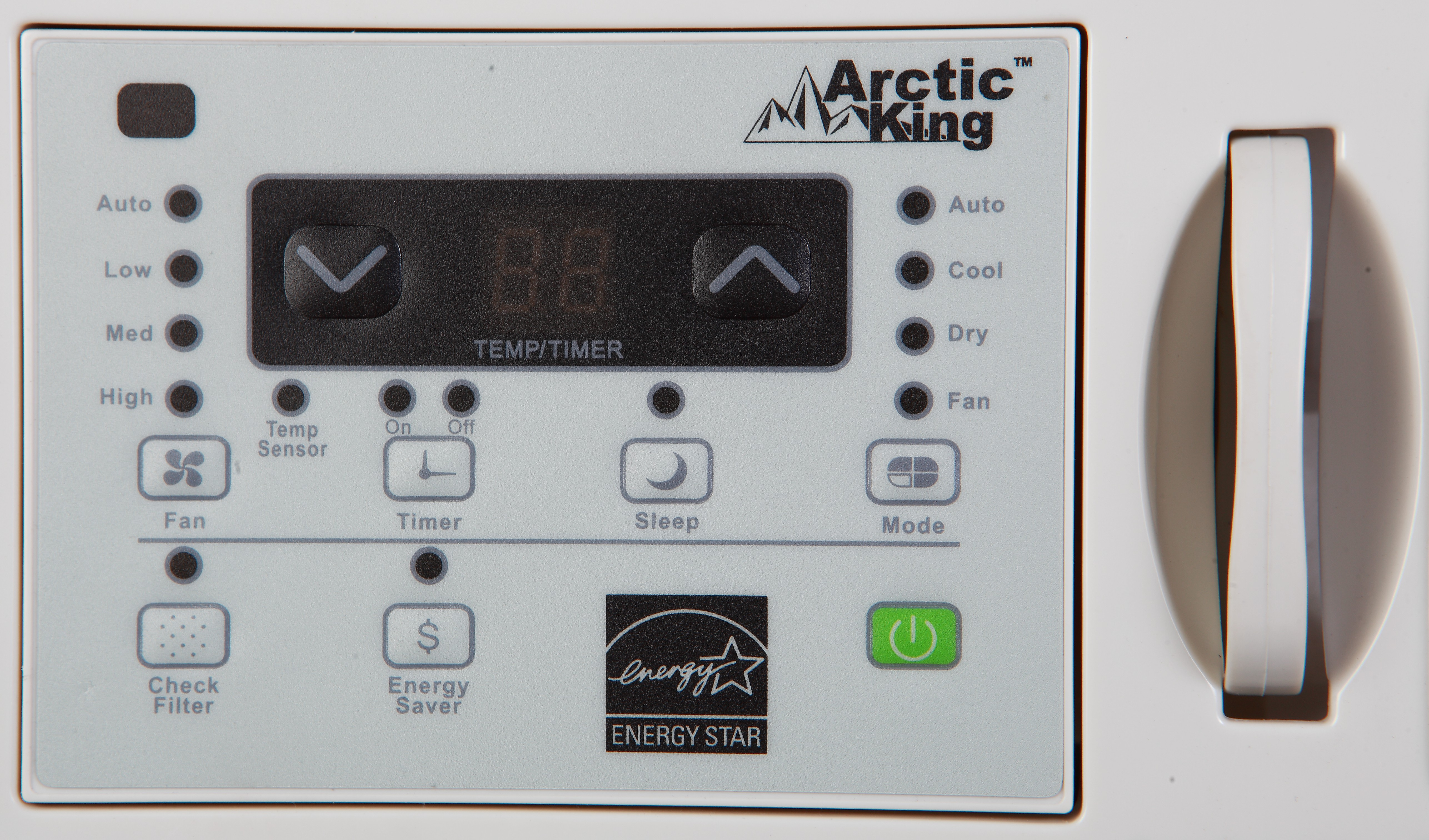 Arctic King WWK25CR72N 25000 Btu Remote Control Window Air