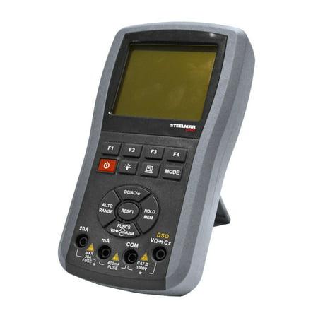 STEELMAN PRO SMM-500 Handheld Professional Auto-Ranging True RMS Digital Oscilloscope and -