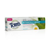 Tom's Of Maine Botanically Bright Toothpaste, Spearmint, 4.7 Ounce