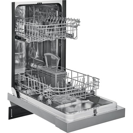 "Frigidaire FFBD1831US 18"" Energy Star Certified Built-In Dishwasher with 8 Place Settings Stainless Steel Interior and 6 Cycles in Stainless Steel"