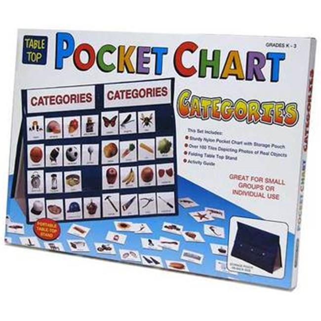 Patch Products 773 Tabletop Pocket Chart - Categories