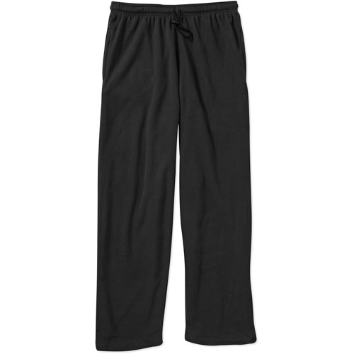 Big Men's Lounge Solid Micro Fleece Pant