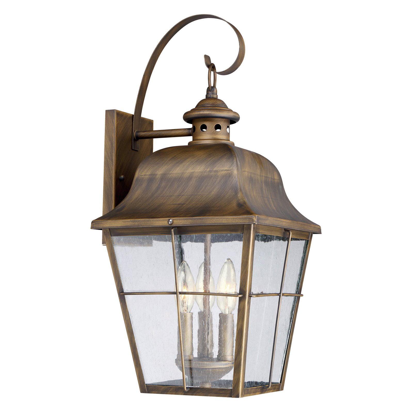 Quoizel Millhouse MHE8410K Outdoor Wall Lantern