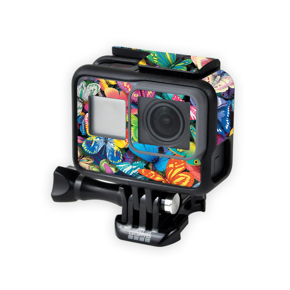 Skin For GoPro Hero5 Black – Butterfly Party | MightySkins Protective, Durable, and Unique Vinyl Decal wrap cover | Easy To Apply, Remove, and Change Styles | Made in the USA