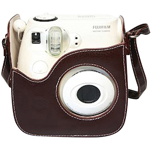 Fujifilm INSTAX Mini 8s Leather Case, Brown