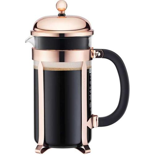 Bodum Chambord French Press 34 oz. Copper