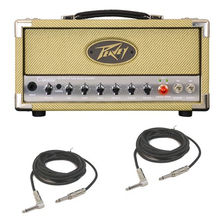 Peavey Classic 20 MH Mini Head Electric Guitar 20W Tube Amp Head &