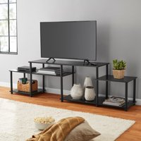Deals on Mainstays No-Tools TV Stand Entertainment Center for TVs