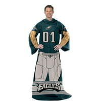 "NFL Philadelphia Eagles Player 48"" X 71"" Full Body Comfy"