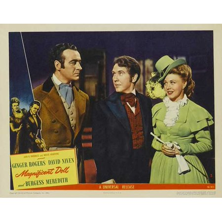 """Magnificent Doll - movie POSTER (Style H) (11"""" x 14"""") (1946)"""