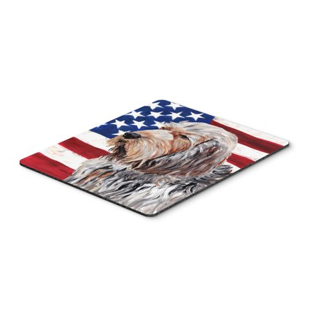 Otterhound with American Flag USA Mouse Pad, Hot Pad or Trivet SC9636MP