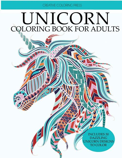 Unicorns Coloring Books: Unicorn Coloring Book: Adult Coloring Book With  Beautiful Unicorn Designs (Paperback) - Walmart.com - Walmart.com