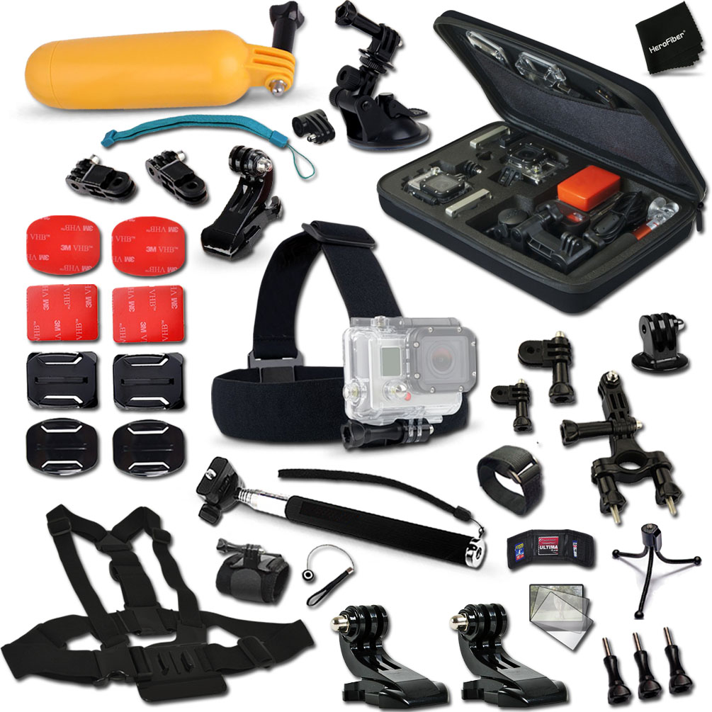 Xtech Complete Accessories Kit for GoPro HERO4 Session, H...