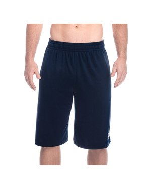 Above The Rim Mens Mesh Athletic Workout Gym Shorts Pockets Basketball Sport