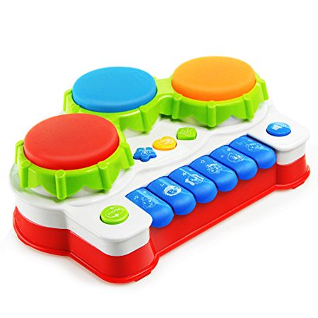 NextX Musical Keyboard Piano Electronic Educational Toys Knock Playing Birthday Gift