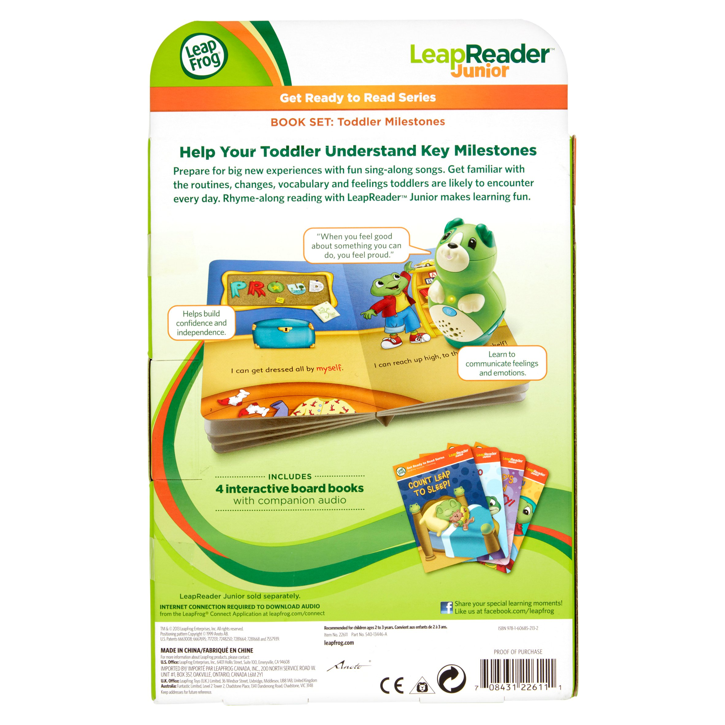 The Companion Audio For Your Book At Leapfrog.com/connect