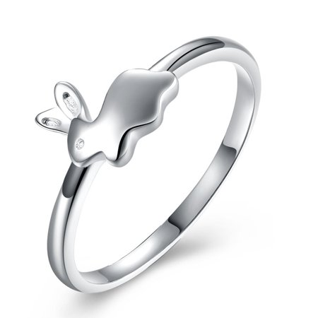 Ginger Lyne Collection Adorable Bunny 925 Sterling Silver -
