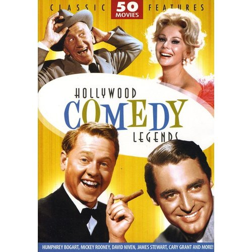 Hollywood Comedy Legends: 50 Movie Collection (DVD) by Mill Creek Entertainment