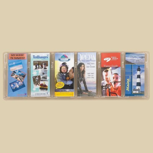 Clear 6 Pamphlet Display