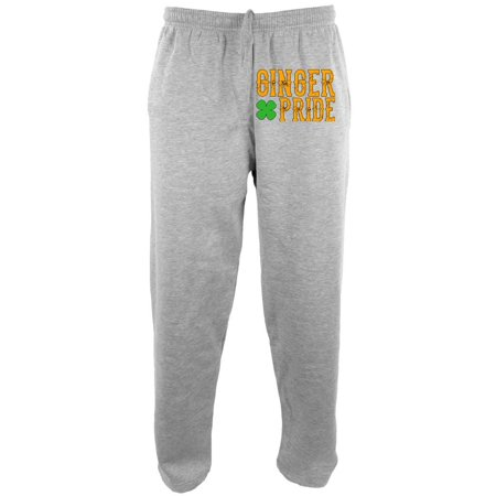 St. Patricks Day Ginger Pride Mens Sweatpants