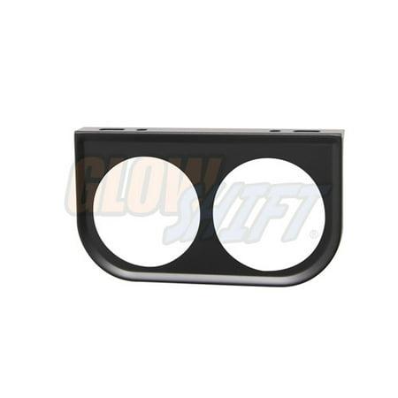 Dual Gauge Mount - GlowShift Universal 52mm Dual Gauge Under Dashboard Mounting Bracket Pod