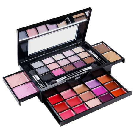 SHANY Fierce & Flawless All-in-One Makeup Set Compact with Mirror, 15 Eye Shadows, 2 Bronzers, 2 Blushes and 15 Lip/Eye Glosses - Applicators Included](Devil Makeup Ideas For Kids)