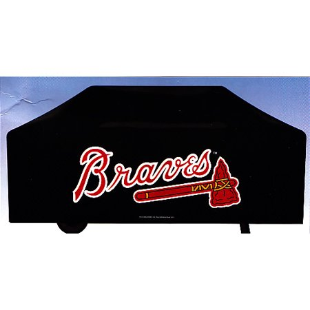 Atlanta Braves Deluxe Grill Cover Walmart Com