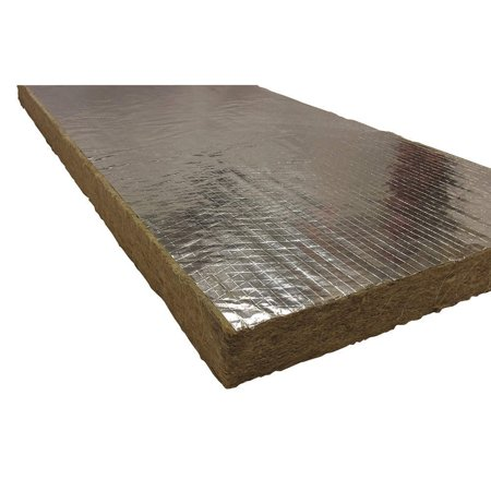 Insulation, Wool, Foil Backing, Price For: Each Standards: ASTM C612 Type 1VB, E136, E84, C665, C795 Stainless Steel, Chemically Inert Item: High Temperature.., By Roxul Ship from