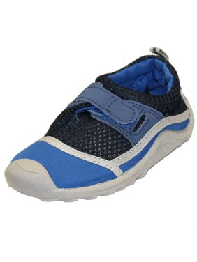 b957a7fccc8c Product Image Sun Smarties Boys  Swim Shoes - Royal Blue and Black - With Antimicrobial  Insoles