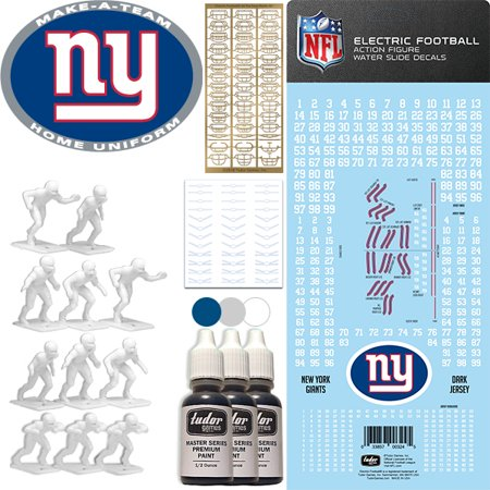New York Giants NFL Home Uniform Make-A-Team Kit for Electric (Giants Kit)