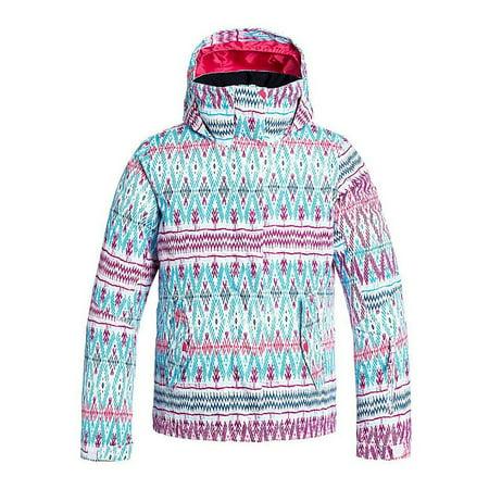 9ff2a80f1 Roxy - Roxy Jetty Girls Snowboard Jacket - Walmart.com