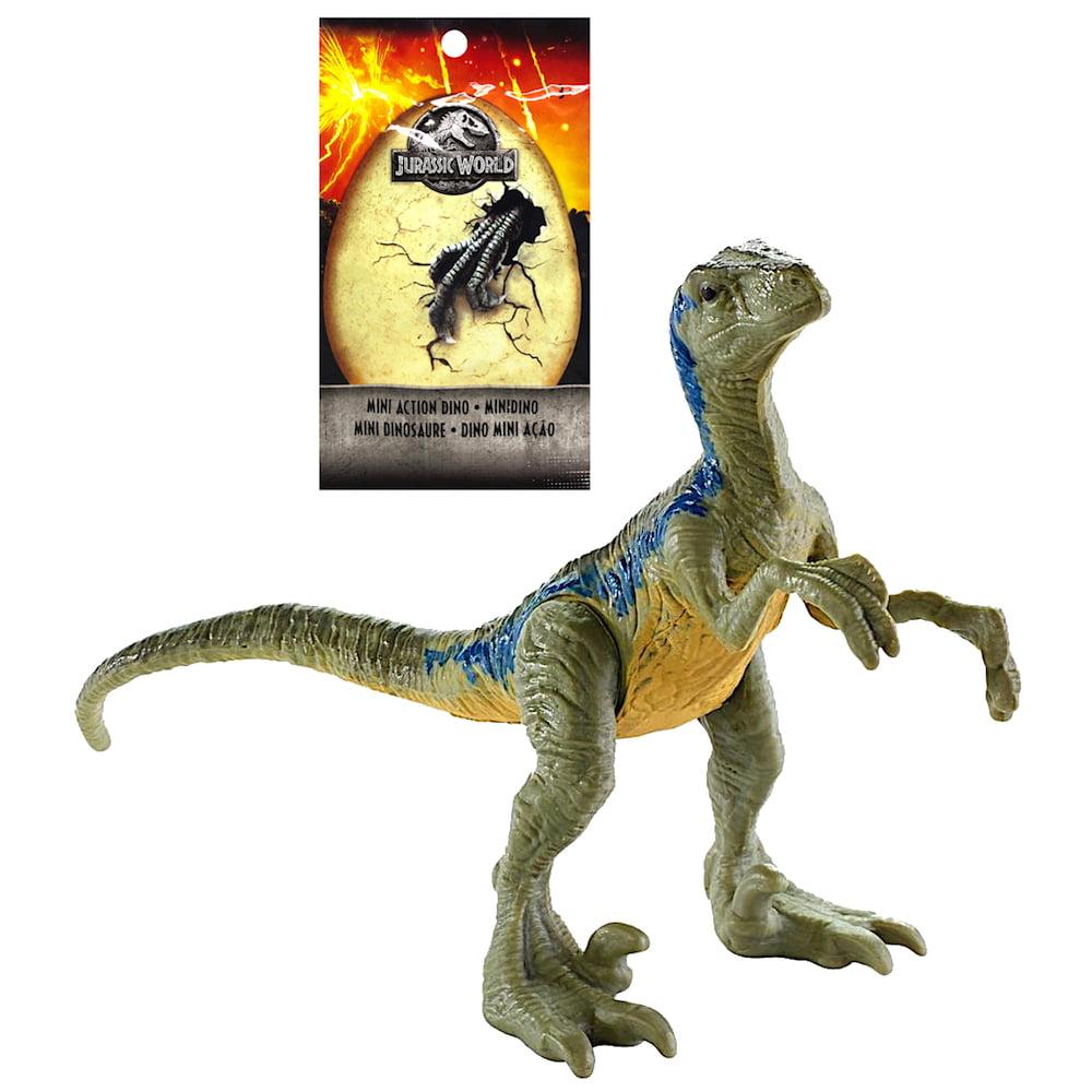 """Velociraptor Blue Dinosaur Jurassic World Blind Bag 2.5"""" Wave 3"""