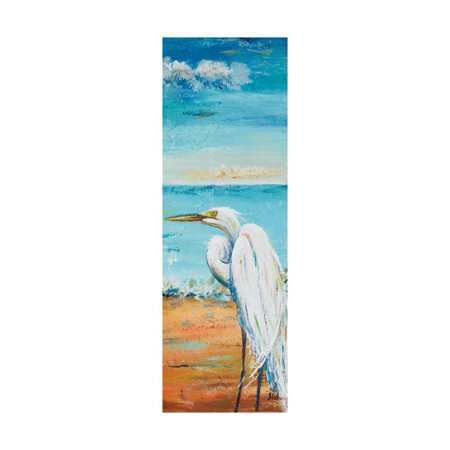 Great Egret Panel II Print Wall Art By Patricia Pinto 2 Painted Wall Panels