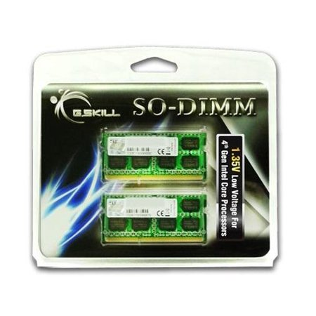 16GB G.Skill DDR3 1600MHz SO-DIMM laptop memory dual channel kit (2x 8GB) CL11 - -