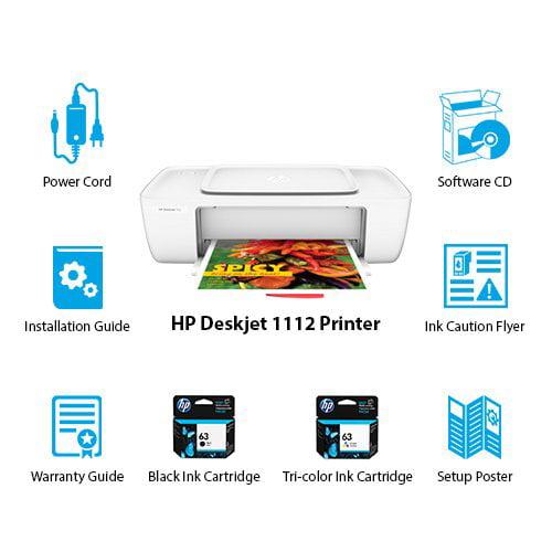 DeskJet 1112 Printer White HP