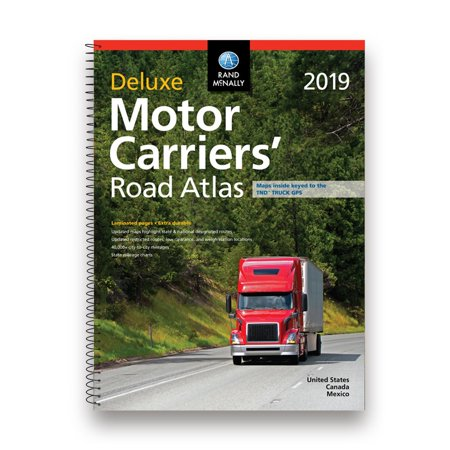 Rand McNally 2019 Deluxe Motor Carriers' Road Atlas Deluxe Motor Carriers Road Atlas