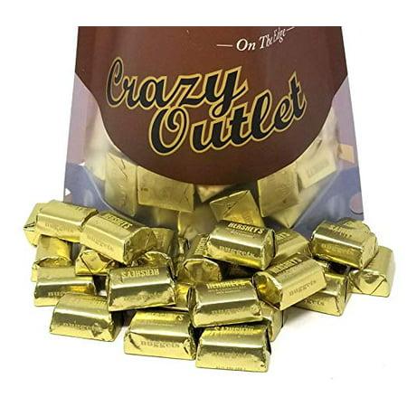 Milk Chocolate with Almonds, Hershey's Nuggets , 2 pounds - Hershey's Almond