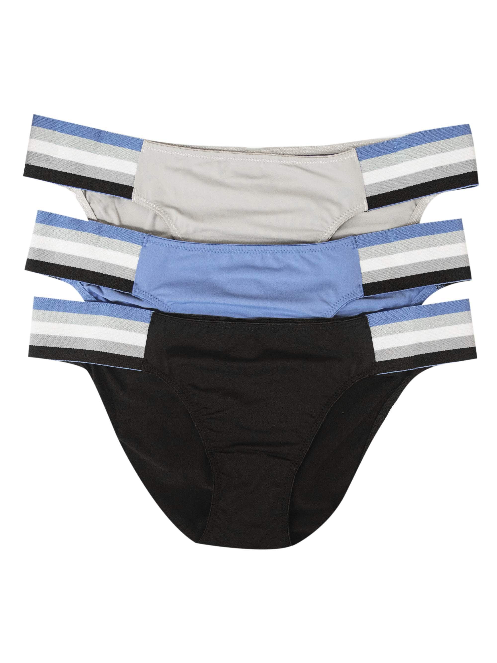 19ae6fa7a86f RBX - Women's Athletic Microfiber Bikini Panties - 3 Pack - Walmart.com