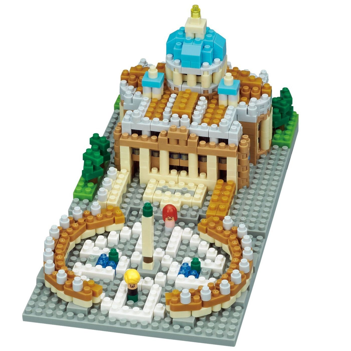 Citta Del Vaticano (Vatican City) Building Sets by Nanoblock (NBH152) by nanoblock