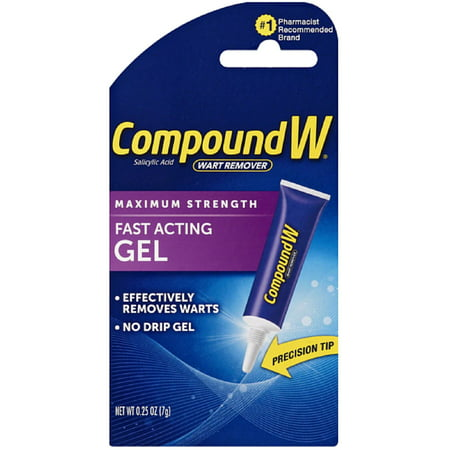 Compound W Maximum Strength, Fast-Acting Gel 0.25 oz