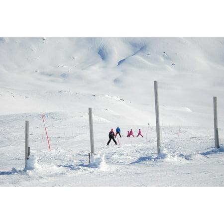 LAMINATED POSTER Real Mountains Hemavan Winter Swedish Mountain Poster Print 24 x 36