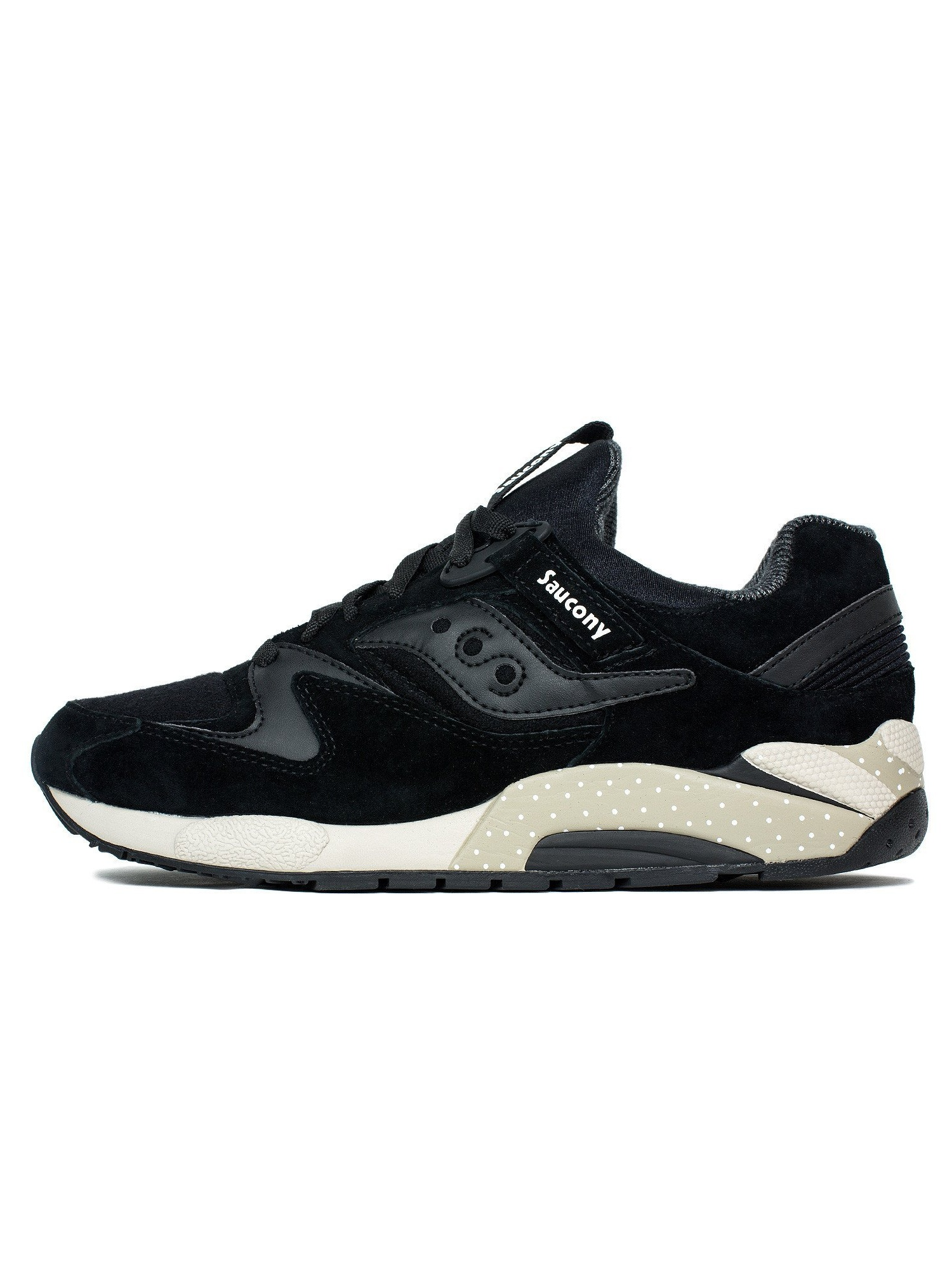 Mens Saucony x Billy's Grid 9000 Nippon Black White S70269-2 by