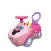 Kiddieland Disney Minnie Mouse Playtime Light & Sound Activity Ride-On
