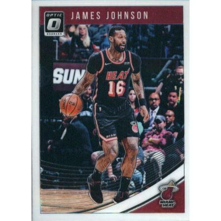 2018-19 Donruss Optic #25 James Johnson Miami Heat Basketball