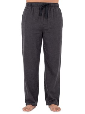 George Men's Plaid Woven Flannel Sleep Pant
