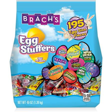 Brach's Egg Stuffers Assortment Candy, 195 ct, 49 oz Bag