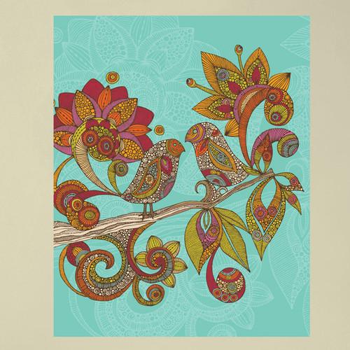 My Wonderful Walls Hello Birds by Valentina Harper Wall Decal