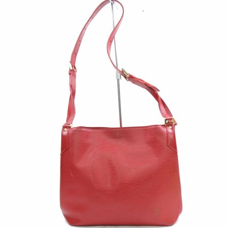 Louis Vuitton Red Epi Mandara MM Hobo 868362