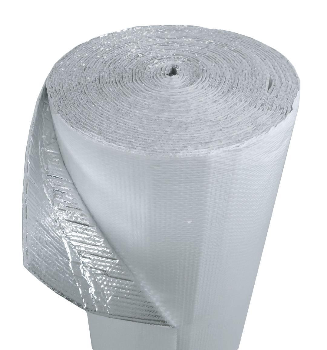 48 in by 125 ft WHITE Single Bubble Concrete Slab Reflective Insulation 500 sf